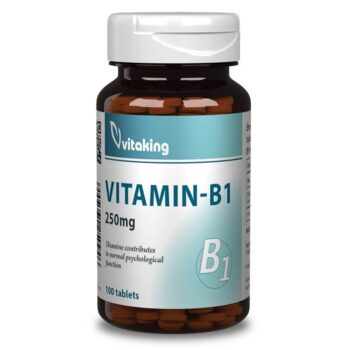 Vitaking B1-vitamin tabletta - 100db