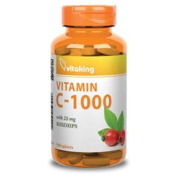 Vitaking C-Vitamin 1000mg tabletta - 100db