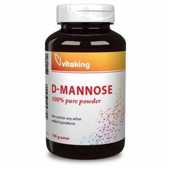 Vitaking D-Mannose por - 100g