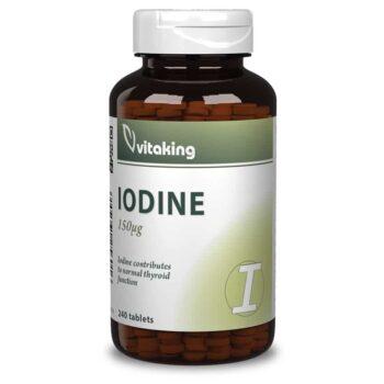 Vitaking Jód (IODINE)  tabletta - 240db