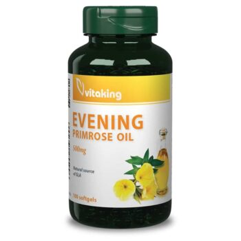 Vitaking Ligetszépe olaj kapszula - 100db