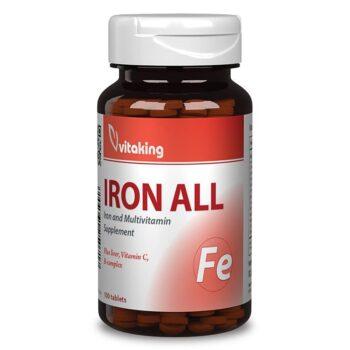 Vitaking Vas-komplex tabletta - 100db