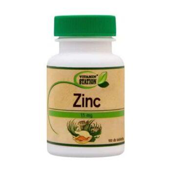Vitamin Station Cink tabletta - 100db