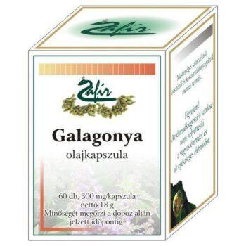 Zafir Galagonya olajkapszula - 60db