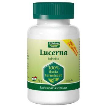 Zöldvér 100%-os lucerna tabletta - 150 db