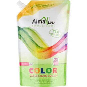 AlmaWin Color Öko folyékony mosószer koncentrátum színes ruhákhoz hársfavirág kivonattal - 1500 ml