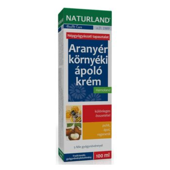 Naturland aranyér környéki ápoló krém - 100ml