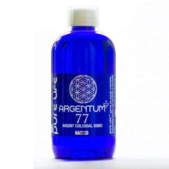 Argentum+ 77 Kolloid Ezüst-ion oldatot tartalmazó antibakteriális szájvíz - 480ml