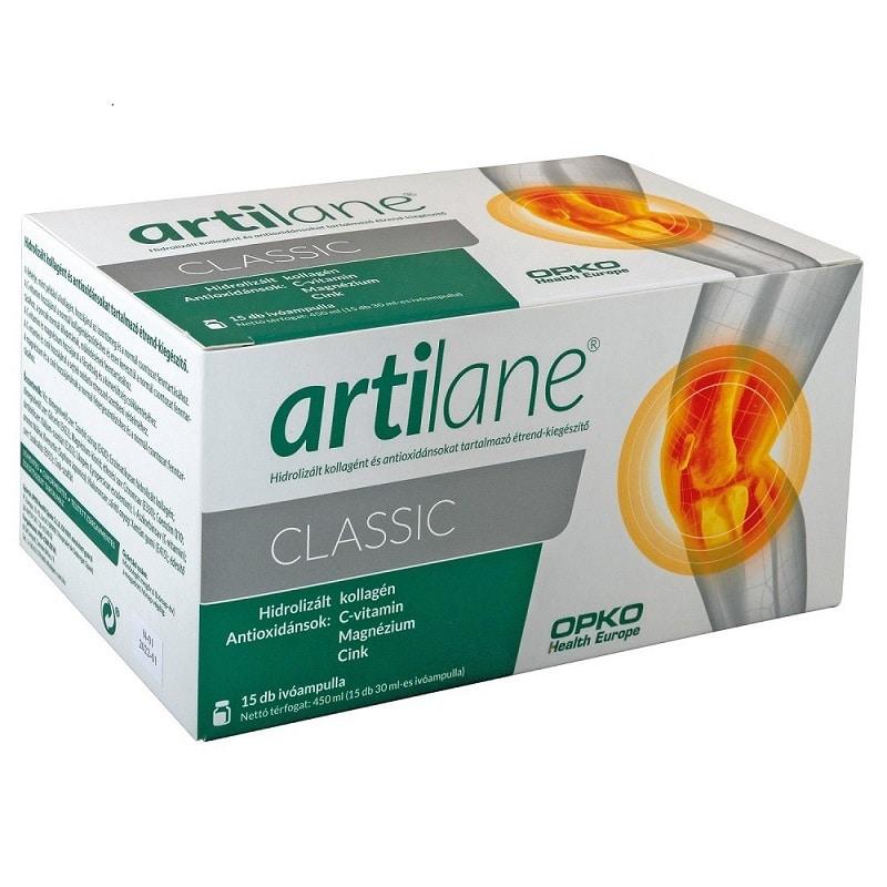 Artilane Classic Hidrolizált Kollagén és Hialuronsav ivóampulla - 15db