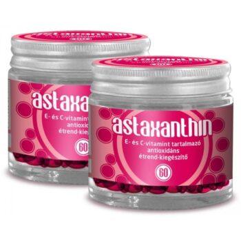 Astaxanthin antioxidáns E és C-vitaminnal kapszula - 60db
