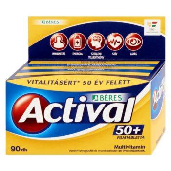 Béres Actival 50+ filmtabletta - 90db