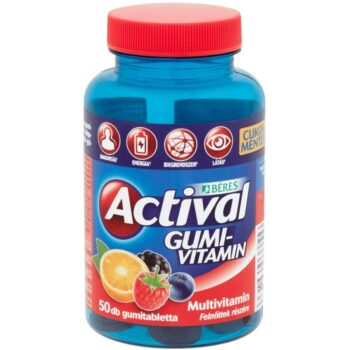 Béres Actival felnőtt gumivitamin - 50db