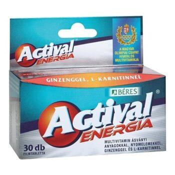 Béres Actival Energia tabletta - 30db filmtabletta