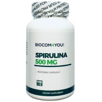 Biocom Spirulina kapszula - 100db