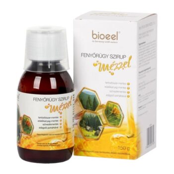 Bioeel Fenyőrügy szirup mézzel - 150g