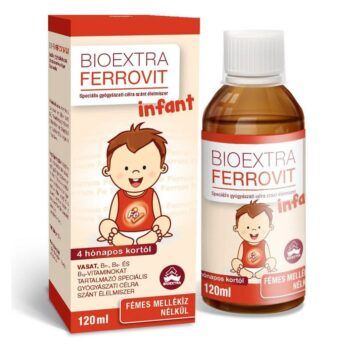 Bioextra Ferrovit Infant szirup - 120ml