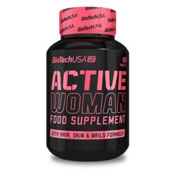 BioTech USA Active Woman multivitamin - 60 db tabletta