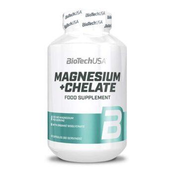BioTech USA Magnesium + Chelate kapszula - 60db