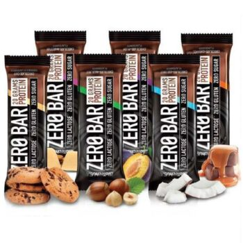 BioTech USA Zero Bar protein szelet csoki-banán - 50g