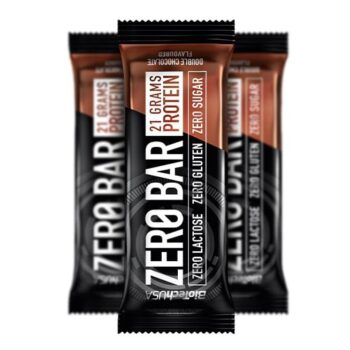 BioTech USA Zero Bar protein szelet dupla csokoládé - 50g
