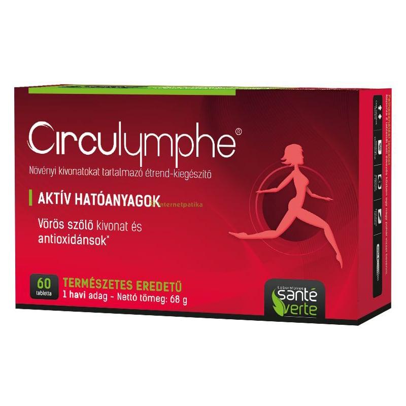 Circulymphe vérkeringést támogató tabletta - 60db