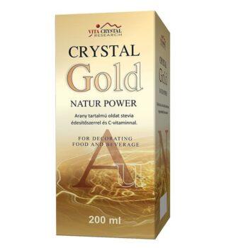 Crystal Gold Natur Power aranykolloid - 200 ml