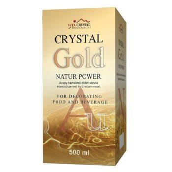 Crystal Gold Natur Power aranykolloid - 500 ml