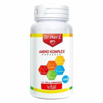 Dr. Herz Amino komplex kapszula - 60db