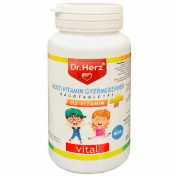 Dr. Herz gyerek multivitamin - 60db