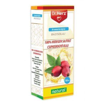 Dr. Herz 100% Hidegen sajtolt csipkebogyóolaj - 20ml