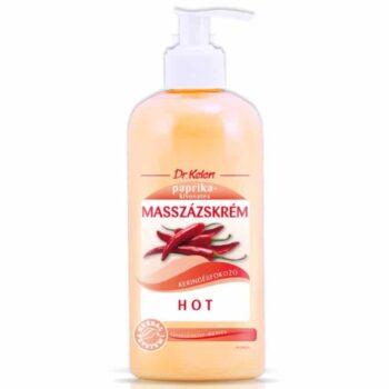 Dr. Kelen Hot masszázskrém - 500ml