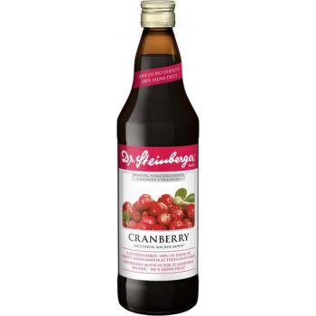 Dr. Steinberger Cranberry/tőzegáfonyalé - 750ml