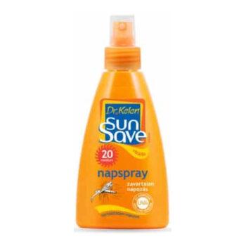 Dr. Kelen SunSave F-20 szúnyogriasztós napspray - 150 ml