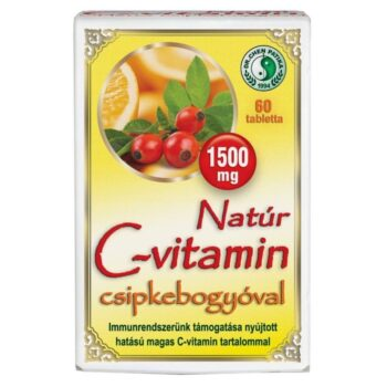 Dr. Chen Natúr C-vitamin csipkebogyóval - 60db