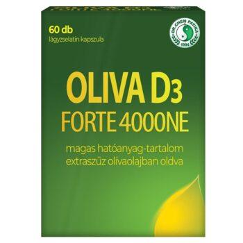 Dr. Chen Oliva D3 Forte 4000NE kapszula - 60db