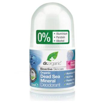 Dr. Organic Holt-tengeri golyós dezodor - 50 ml