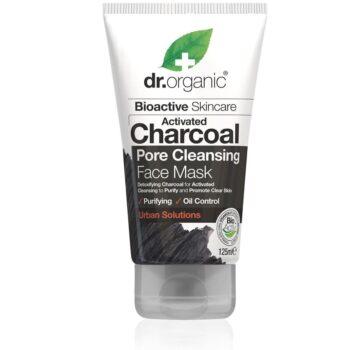 Dr. Organic Charcoal Pórustisztító arcpakolás aktív szénnel - 125ml