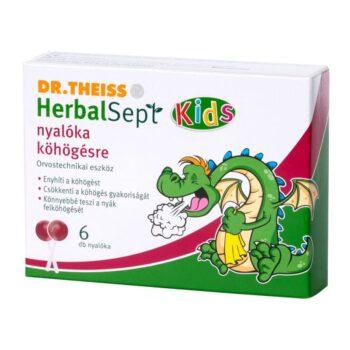Dr. Theiss Herbalsept nyalóka köhögés ellen - 6db