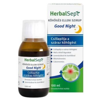 HerbalSept Köhögés elleni szirup Good Night - 100ml