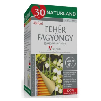 Naturland fehér fagyöngy tea - 25 filter/doboz