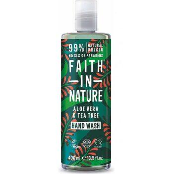 Faith in Nature Aloe vera és teafa folyékony kézmosó - 400ml