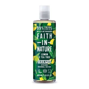 Faith in Nature Citrom és teafa sampon - 400ml