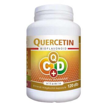Flavin7 Quercetin C+D C-vitamin 1000mg + D-vitamin 4000NE Echinacea kapszula – 120db