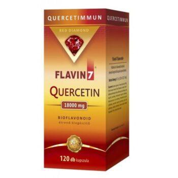 Flavin7 Quercetin - Kvercetin kapszula - 120db