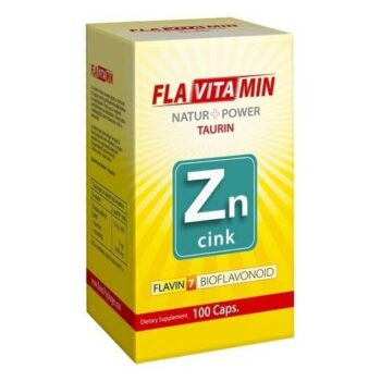 Flavitamin Nature+Power Cink kapszula - 100 db