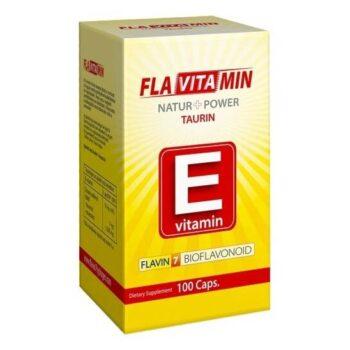 Flavitamin Nature+Power E vitamin kapszula - 100 db