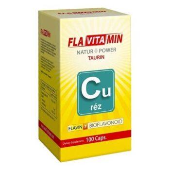 Flavitamin Nature+Power Réz kapszula - 100 db