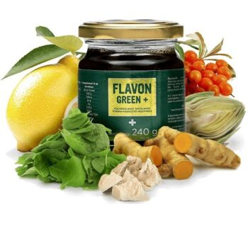 Flavon Green Plus koncentrátum - 240g