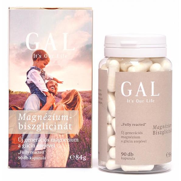 GAL Magnézium-biszglicinát kapszula - 90db