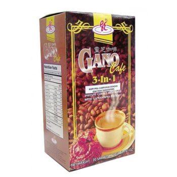 Gano Excel Cafe 3in1 ganoderma tartalmú kávé - 20 tasak/doboz